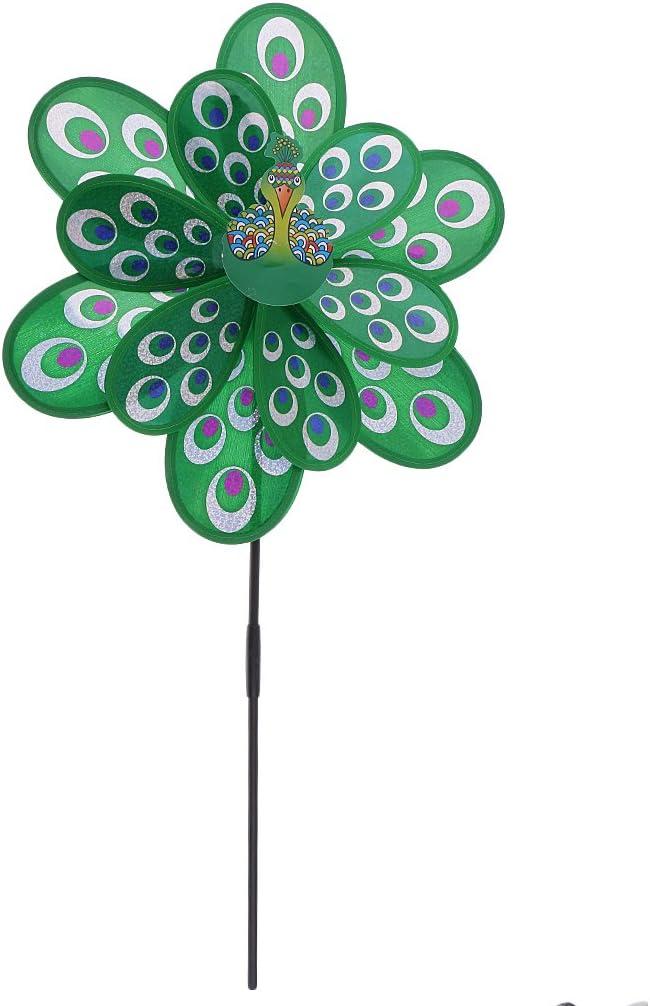 Prettyia 3D DIY Popular popular Windmill Pinwheel Challenge the lowest price of Japan Wind Chimes Decorat -