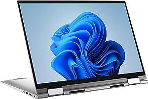 Dell Inspiron 17 2-in-1 QHD+ Touchscreen Laptop Intel i7-1165G7 16GB RAM 1TB SSD, Lightweight Thin Design, Backlit Keyboard, Fingerprint Reader, Wi-Fi 6, Webcam with Privacy Shutter, USB-C, Windows 10