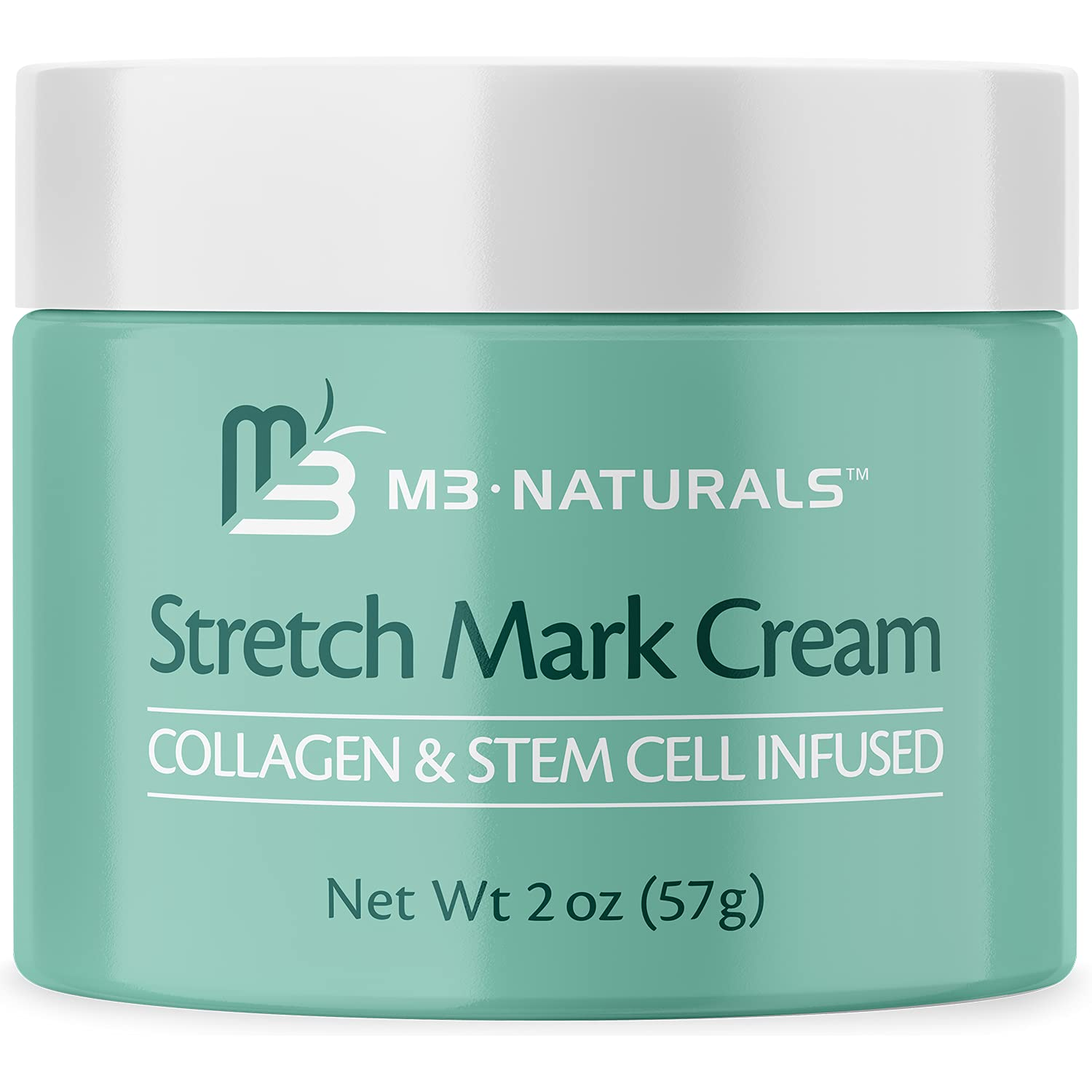 M3 Naturals Stretch Mark Cream Infused 25% San Francisco Mall OFF Collagen Stem Ce and with