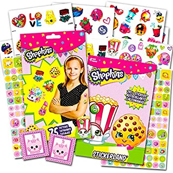 Shopkins Stickers and Tattoos Party Favors Pa | Shopkin.Toys - Image 1