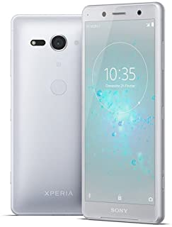 Sony Xperia XZ2 Compact H8314 64GB 5.0' Factory Unlocked Smartphone International Version 4G LTE (White Silver)