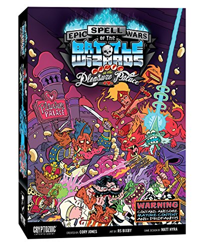 Unbekannt Cryptozoic Entertainment CRY02727 Epic Spell Wars: Panic at The Pleasure Palace, Mehrfarbig