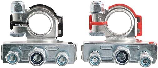 VIccoo 2 stuks vrije tijd accuklemmen connector klemmen voor auto van caravan camper