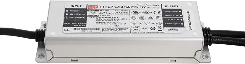 Voeding PRO 75W MeanWell ELG-75-24DA 24V DC 3.15A dimbaar DALI IP67