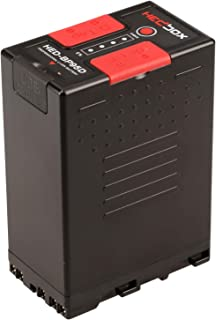 HEDBOX   HED-BP95DX   Li-Ion Battery 97Wh / 6700mAh with Dual D-Tap & USB Out, Compatible for Sony BP- U30, U60, U90, and PMW-150, PMW-200, PMW-300, PMW-EX1, PMW-EX3, PMW-F3, Camcorders