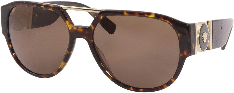 Versace Sonnenbrille (VE4371) Havana