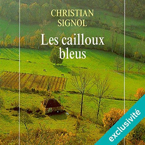 Les cailloux bleus audiobook cover art