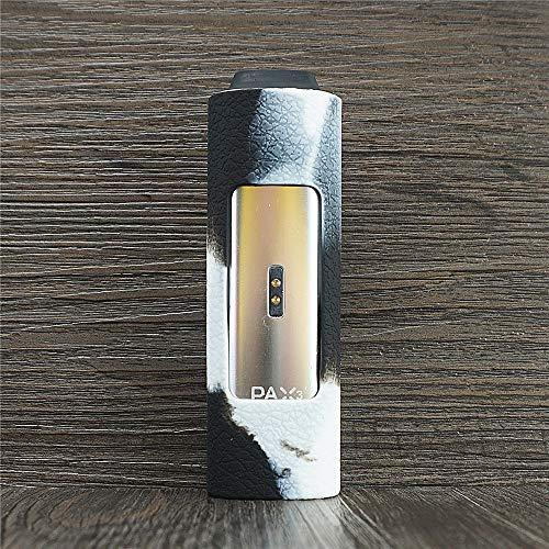 ORIN Protector de Silicona Caso para Pax 2 or Pax 3 Silicona Manga Caso Cubrir Piel Cover Skin Case(Blanco Negro)