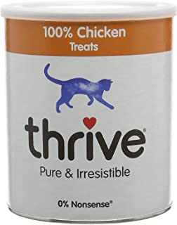 thrive Cat Treats, Maxi Tube, One Ingredient All Natural Cat Treats, Freeze Dried