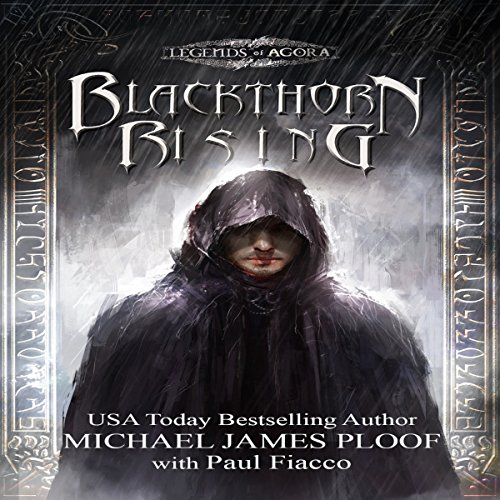 Blackthorn Rising audiobook cover art