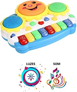 Teclado Piano Musical Bebê Brinquedo Infantil Divertido