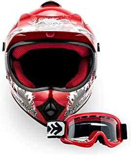 Amazon.es: cascos de motocross - Rojo