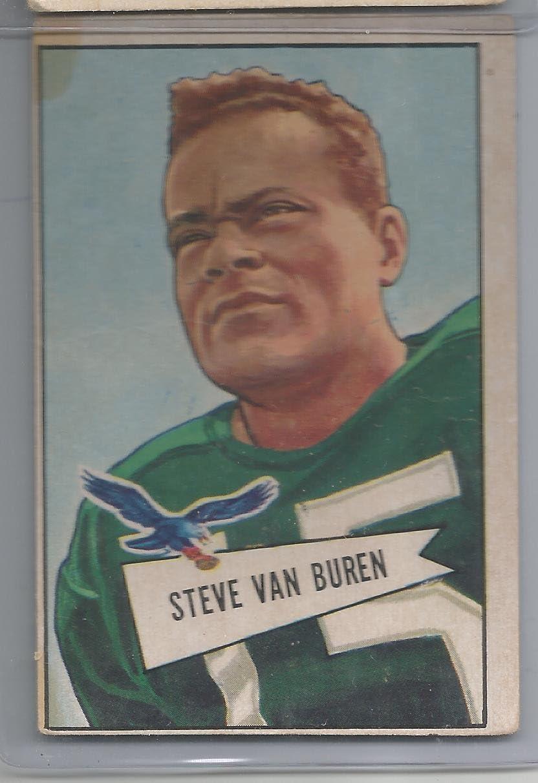 1952 Bowman Large Football Steve Van 45 Buren VG Conditio Oakland Mall # Card Max 59% OFF