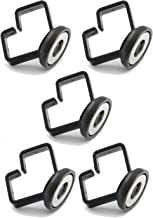 Mag-Daddy MD3243-5 Cable Daddy Black Round Medium Fastener, (Pack of 5)