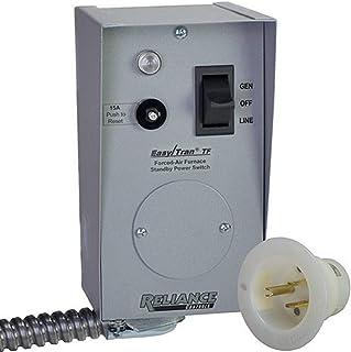 Reliance Controls TF201W Easy/Tran Transfer Switch, 2500 Watts