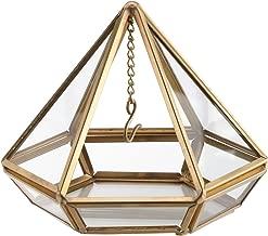 Lillian Rose RA210 G Gold Hanging Prism Ring Holder