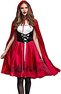 Goddessvan Women 2019 Halloween Costume Cosplay Ball Party Hooded Bandage Shawl Dress Suit