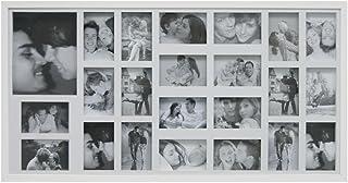 Painel Fotos 103X53 22 10X15cm e 1 15X21cm Kapos Branca 103X53X3