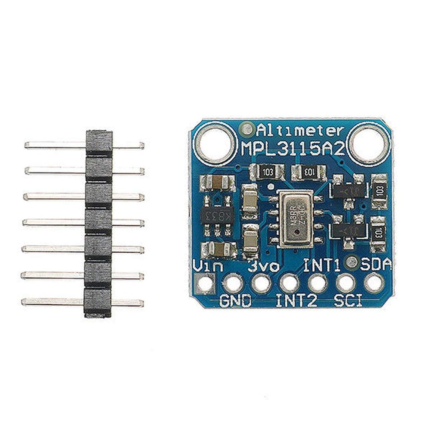 折り目ラリートーストMPL3115A2 Arduino用インテリジェント温度気圧高度センサーV2.0 - ダークブルー