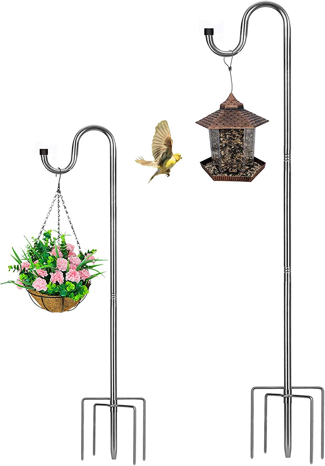 Outlet SALE Translated HOME RIGHT Bird Feeder Pole 30 to Adjustable H 62 Shepherds inch