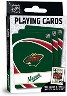 (Minnesota Wild) - MasterPieces NHL Minnesota Wild Playing Cards