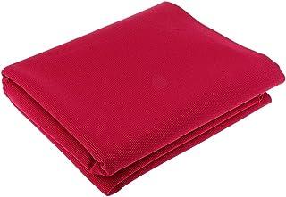 Hellery Leinwand Plane Zelt Segeltuch Oxford Gewebe Stoff Abdeckplane 1mx1m zum Nähen Möbel, Tasche, Tischdecke, Rose Rot
