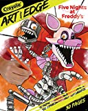 Crayola Five Nights at Freddy's Coloring Pages, Adult Coloring, 30 Count