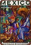México clásico nostálgico arte retro pintura de hojalata letrero de metal decoración de pared regalo perfecto para colgar 7.8X11.8 pulgadas