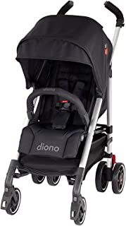 Diono Flexa - City Ready Umbrella Stroller, Black Midnight
