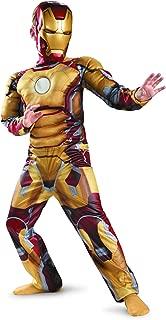 Marvel Iron Man 3 Iron Man Mark 42 Boys Halloween Costume (SMALL)