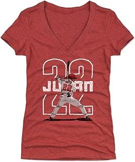 500 LEVEL Juan Soto Women's Shirt - Washington Baseball Shirt for Women - Juan Soto Outline