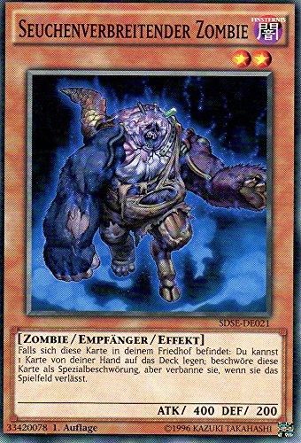 Seuchenverbreitender Zombie SDSE-DE021 1. Auflage Common NM DE YU-GI-OH!