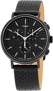 Timex Fairfield Chrono Leather