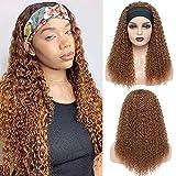Pelucas mujer pelo natural rizado 24inch(60cm) ondas pelo human hair wig con cintas pelo mujer peluca rizos negra kinky curly hair 30# color