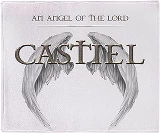 CafePress - Supernatural Castiel Angel Wings - Soft Fleece Throw Blanket, 50