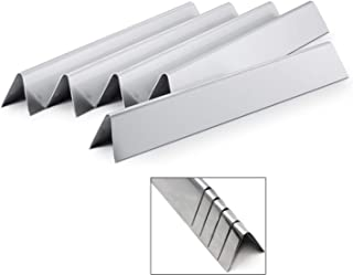 Direct store Parts DP101 Stainless Steel Heat Plates Replacement Weber Spirit E-210, Genesis Silver A & Spirit 500 Gas Grills, 9811,7535 /L 21.5