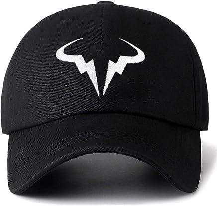 Hittings Rafael Nadal Sandwich Peaked Hat//Cap Black