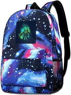 Galaxy Printed Shoulders Bag Rapture Art Big Daddy Little Sister Bio Shock Fashion Casual Star Sky Backpack For Boys&girls