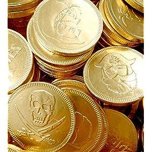30 x gold foil pirates themed milk chocolate money coins loot 30 x Gold Foil Pirates Themed Milk Chocolate Money Coins Loot 61N GB6ESDL