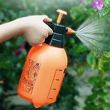 Deetto 1 Pc Garden Pump Pressure Sprayer,Lawn Sprinkler,Water Mister,Spray Bottle for Herbicides, Pesticides, Fertilizers, Plants Flowers 2 Liter Capacity - Random Color