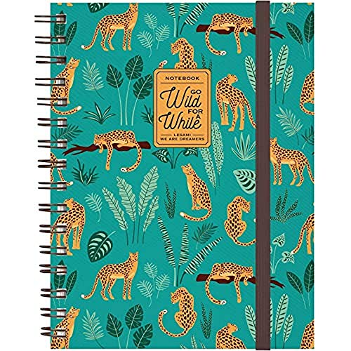 Legami Maxi Trio Spiral Notebook Cheetah
