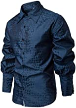 NOBRAND Primavera Nueva Camisa para hombre de manga larga medieval puro traje de equitación para caballeros