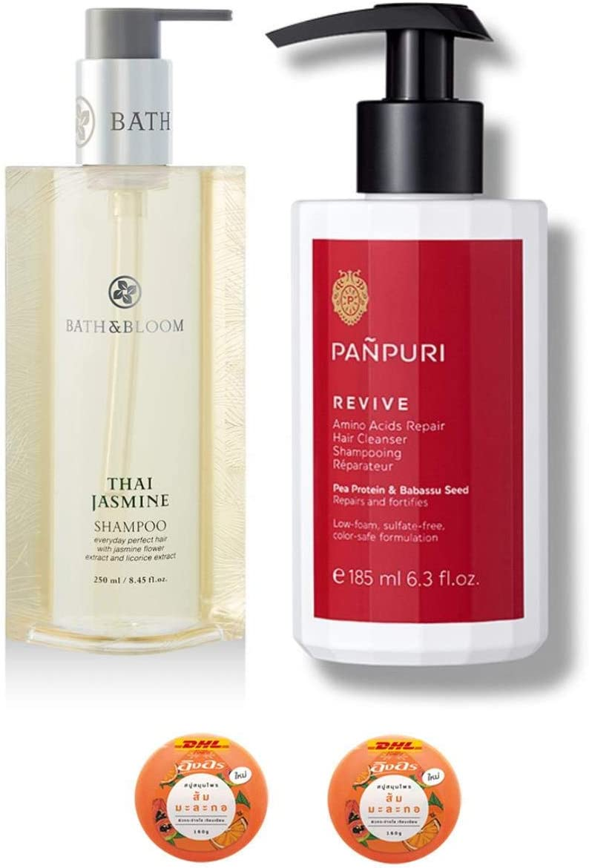 Ranking TOP18 Extra Set Bath Bloom Thai Amino Panpuri Challenge the lowest price of Japan ☆ Jasmine 250ML. Shampoo