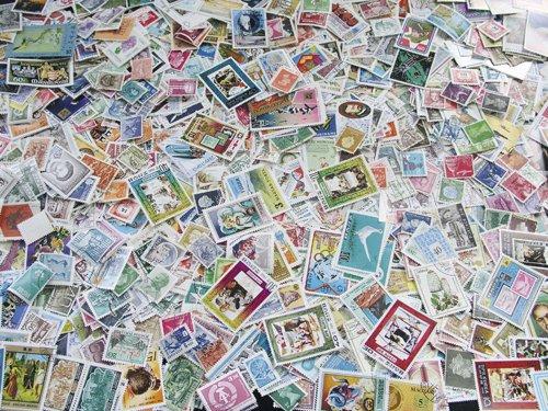 Goldhahn Alle Welt-Generalsammlung Briefmarken für Sammler