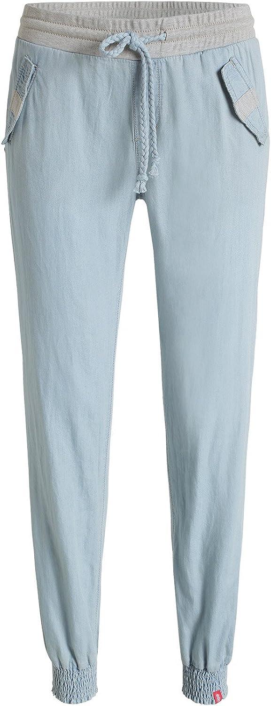 edc by Esprit Pantalon Femme Blau (499 Blue Colorway)