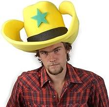 Clown Antics Super Size 50 Gallon Cowboy Hats - Yellow (28