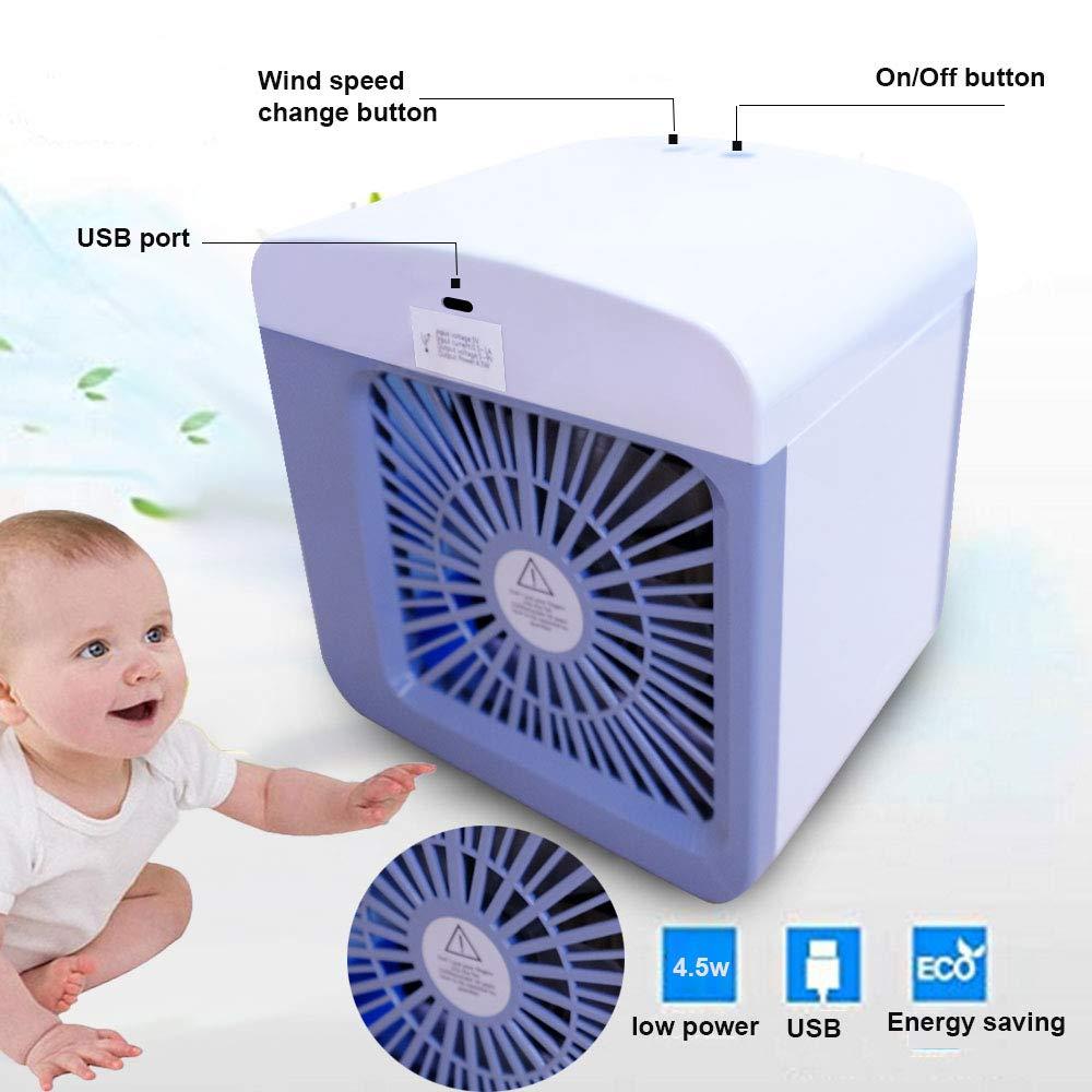 Air Cooler Personali Piccolo Climatizzatore Portatile Ventilatore USB Dello Scrittorio Raffreddatore Daria Evaporativo Mini Climatizzatore Personale Umidificatore daria Purificatore daria AC02