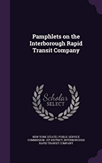 Pamphlets on the Interborough Rapid Transit Company