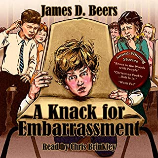 A Knack for Embarrassment audiobook cover art