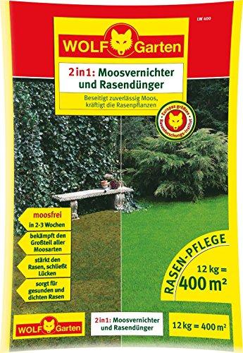 WOLF-Garten - Moosvernichter und Rasendünger LW 400; 3844040